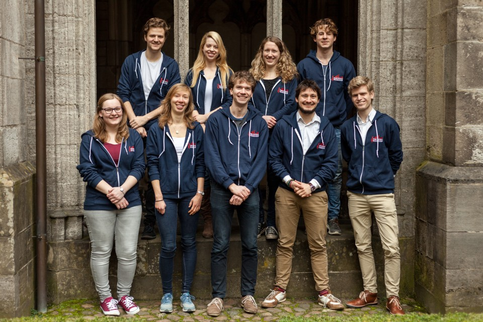 Organising committee Utrecht Physics Challenge: 10 motivated master students.